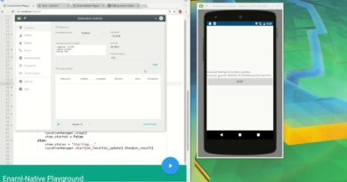 Enaml Native - Android apps in Python - GPS location and permissions
