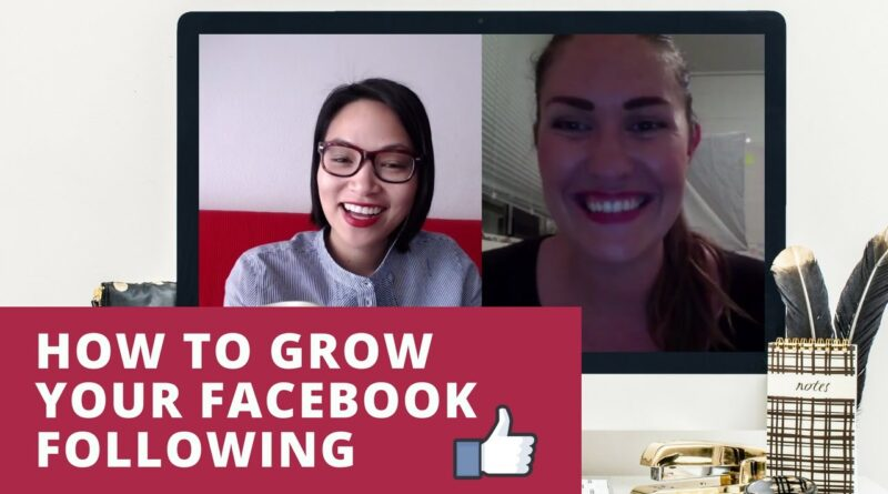Facebook Business Page Tips - how to grow your facebook page