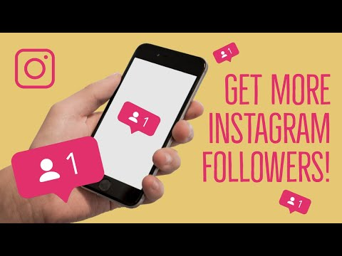 Get More INSTAGRAM FOLLOWERS! - Instagram Marketing TIPS for INFLUENCERS and BUSINESSES