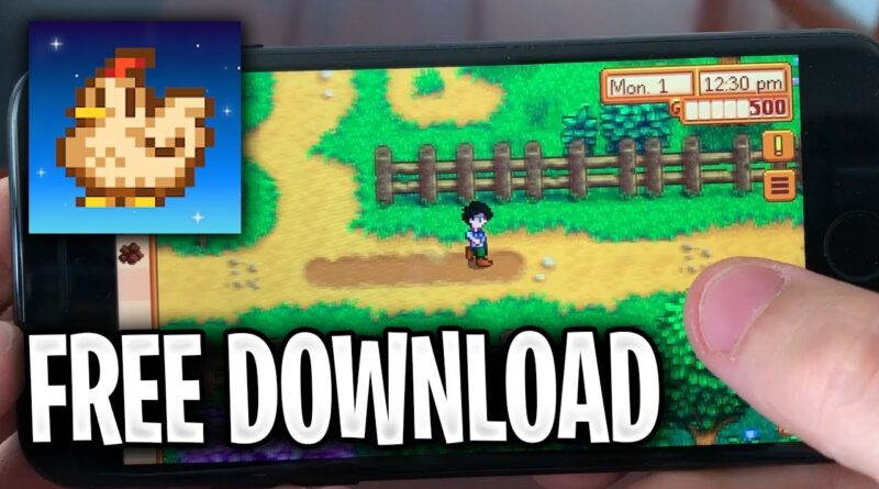 How To Download Stardew Valley Free (iOS & Android APK) For Free 2019 ✅ Mobile Edition