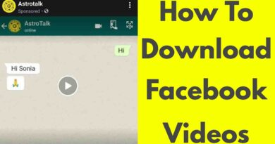 How To Download/Save Facebook Videos In Your Android Mobile Gallery-Without Any App-2020