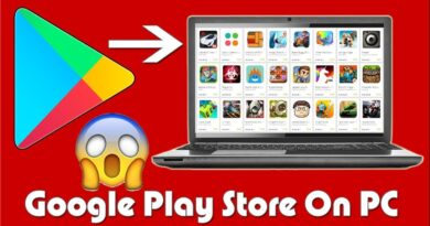 How To Install Android Apps Google Play Store On PC / Laptop