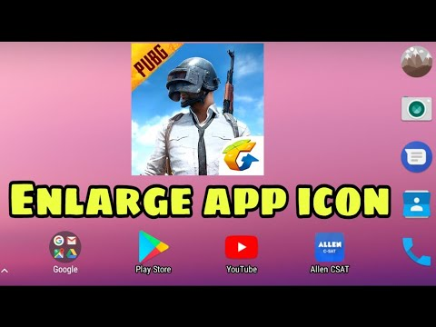How you can enlarge app icon in android in hindi/Animesh/enlarge app icon dimension🔥🔥🔥 5