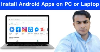 How to install Android Apps on PC or Laptop    Android Apps Laptop Me Kaise Chalaye