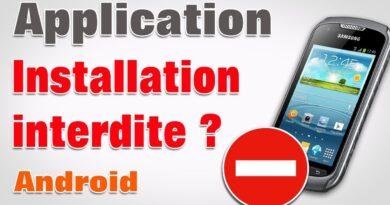 Installation bloquée android autoriser applications sources inconnues