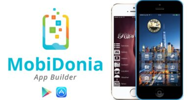 Mobile App Builder For iPhone(iOS) and Android Mobidonia