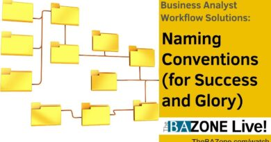 Naming Conventions (for Success and Glory) - Business Analyst Workflow Solutions