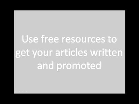 Online marketing articles: Article Writing tips