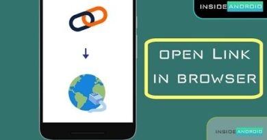 Open Link in Browser | Android App | Android Studio