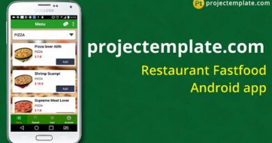 Restaurant Fastfood Android App source code