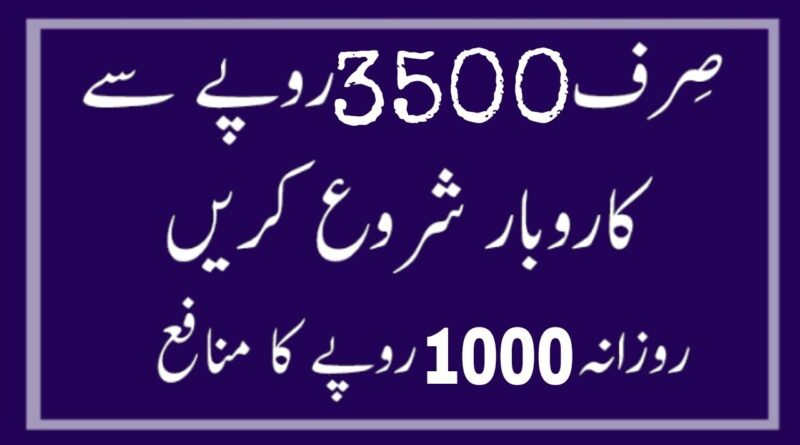 Start Small Business Chain in Urdu Hindi