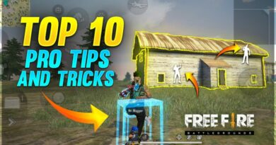 TOP 10 PRO TIPS & TRICKS||Only Double Door Challenge - Garena Free Fire - Run gaming