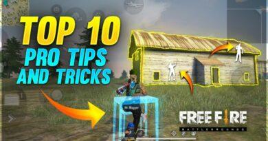 TOP 10 PRO TIPS & TRICKS  Only Double Door Challenge - Garena Free Fire - Run gaming