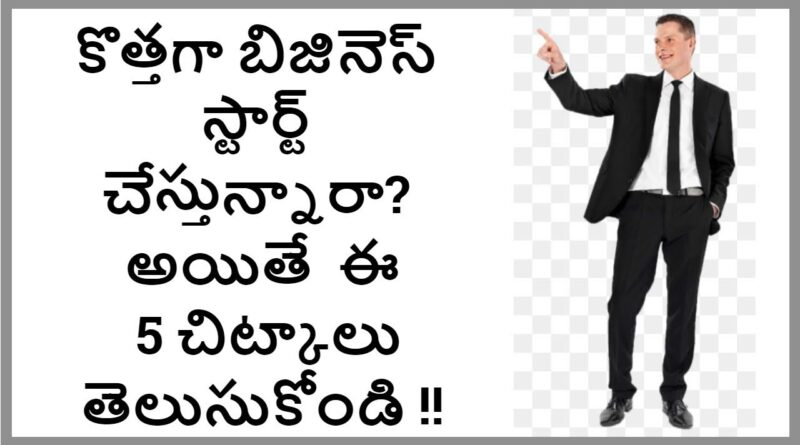 Tips to Start the New Business in Telugu | Money Doctor Show | EP : 37 |