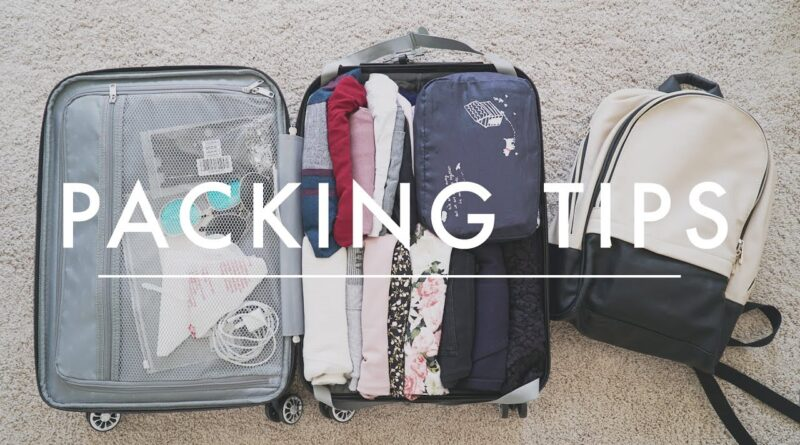 Travel Packing Tips   How to Pack a Carry-On + Packing Checklist Download