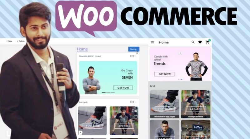 👉WooCommerce Cell App (2020 Step by Step) | Appmaker.xyz evaluation | Ecom App for Android and iPhone 5
