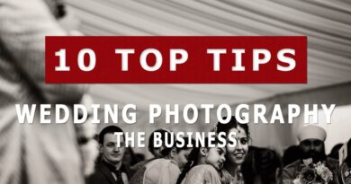10 Tips For Setting Up A Wedding Photography Business