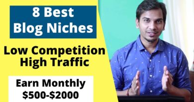 eight Finest Weblog Area of interest Concepts/Matter   Low Competitors Excessive Site visitors Weblog Niches To Earn Cash On-line 9
