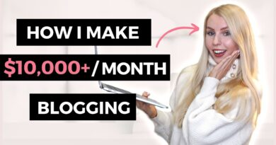 How To Make Cash Running a blog | How I ACTUALLY Make Over $10,000 A Month Running a blog In 2020 8