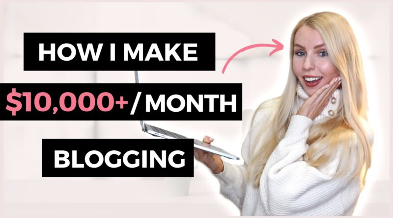 How To Make Cash Running a blog | How I ACTUALLY Make Over $10,000 A Month Running a blog In 2020 5