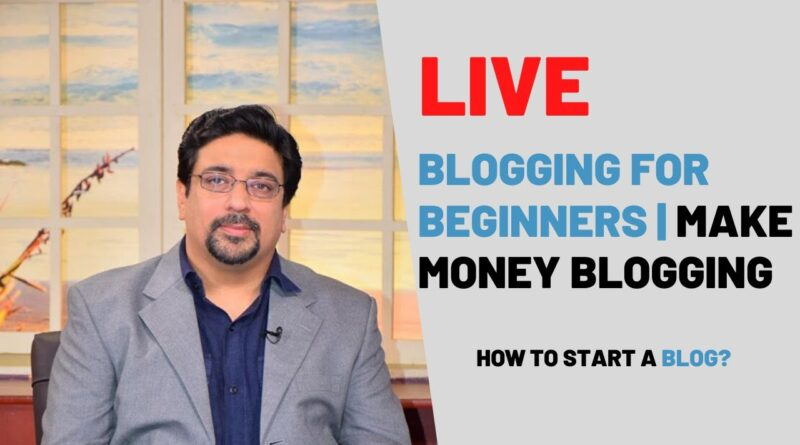 Running a blog for Newcomers | Make Cash Running a blog | The way to begin a Weblog in 2020? 5