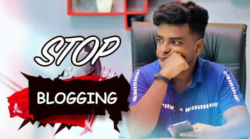 Cease Running a blog!❌ Downside With Each Indian Bloggers 5
