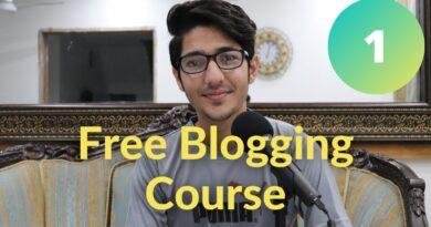 What's Running a blog? Running a blog Course Video #1 8