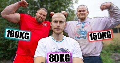 Treenasin Suomen vahvimman miehen kanssa! feat. Jesse Pynnönen 7