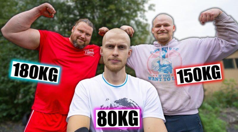 Treenasin Suomen vahvimman miehen kanssa! feat. Jesse Pynnönen