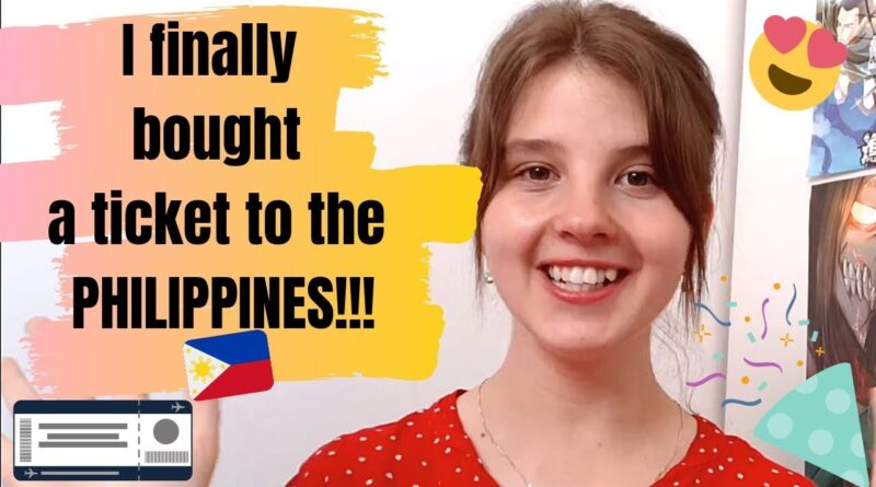 I lastly purchased a ticket to the Philippines!!! I Miss Philippines So A lot!!!