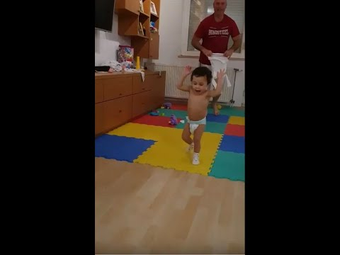 Mika on the run once more! Her favourite Outfit (Socks and Diaper) 5