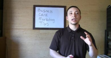6 Business Card Marketing Tips
