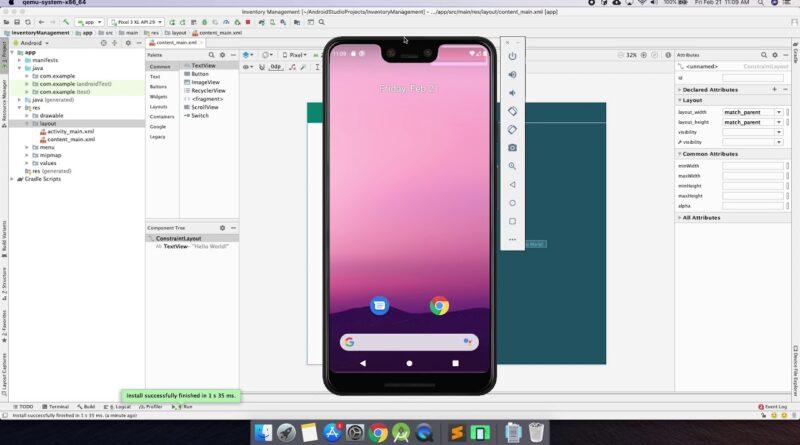 Android Studio Tutorial - Part 1 (2020 Edition)