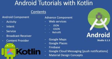 Android Tutorials with Kotlin || Introduction to Android App Development #1
