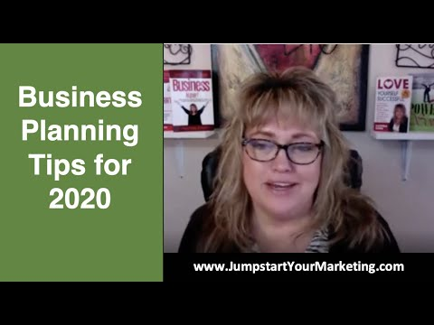 Business Planning Tips for 2020