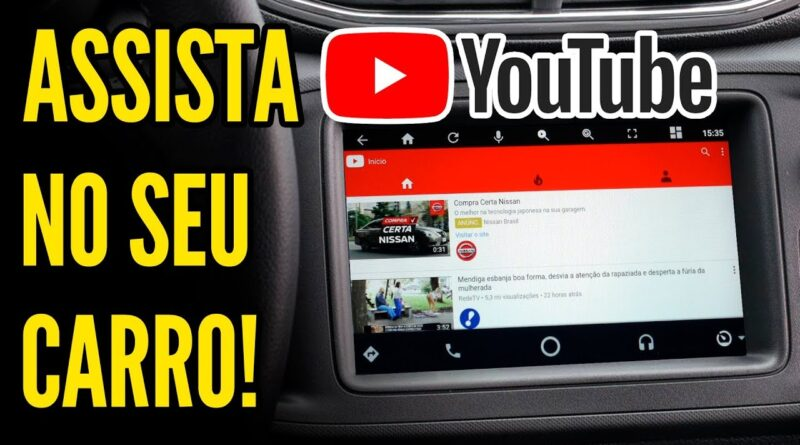 CARSTREAM - Aplicativo de VÍDEOS para o ANDROID AUTO