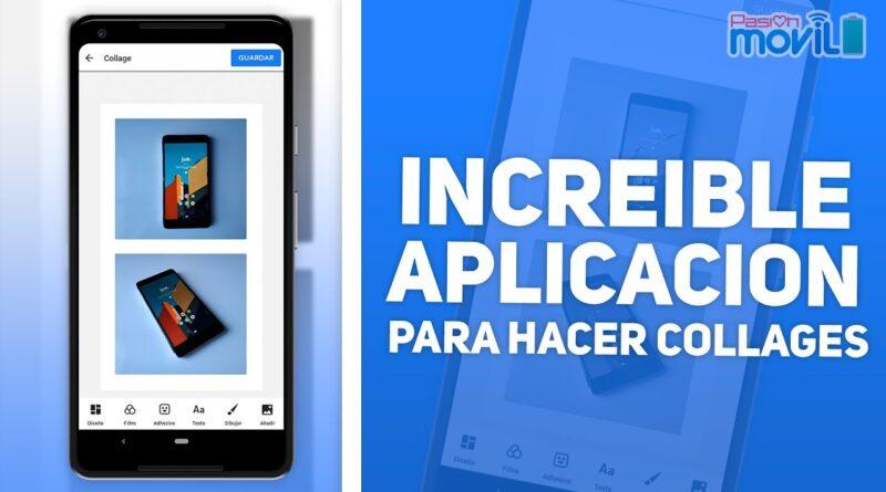 Collage Maker - Gran App para tu Celular Android