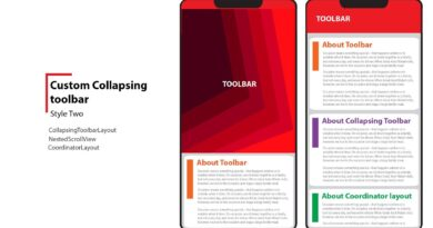 Collapsing Toolbar ( Android Advance Level ) 002