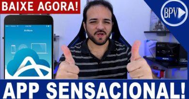 Como Transferir ARQUIVOS do Android para o PC via WiFi - APLICATIVO SENSACIONAL!