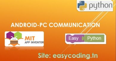 Easy Python tutorial 16: Android-PC communication