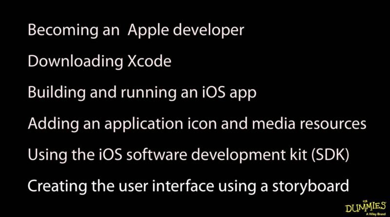 For Dummies: iOS Application Development 1 - 1. Welcome