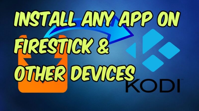 HOW TO INSTALL ANDROID APPS ON FIRESTICK (APTOIDE APP STORE FIRESTICK)