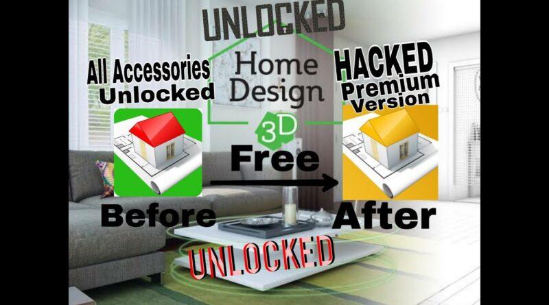 Home Design 3D 2019 Unlocked All Accessories Apk & Premium Version Apk I AGT TECH I