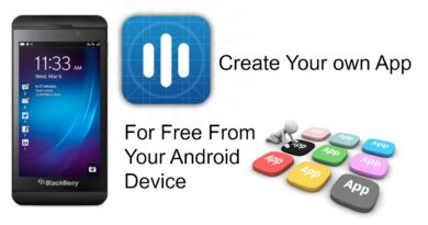 How To Create Your Own App From Your Android Device