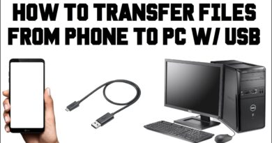 How To Transfer Files From Android to PC With USB Cable - Phone Not Connecting To Computer Via USB