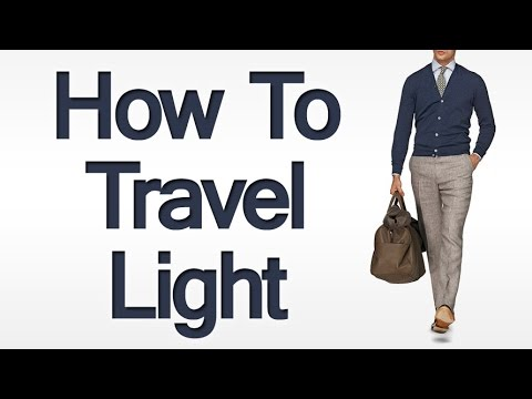 How to Travel Light | Packing Tips when Traveling