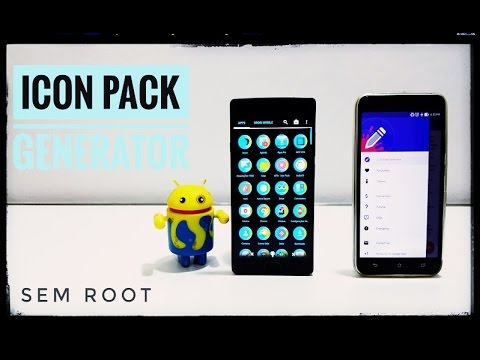 Icon Pack Generator ✰ sem ROOT ✰