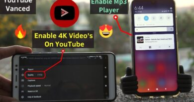 Install YouTube Vanced App In Any Android [Without ROOT] | Enable 4K Videos,Mp3 Player On YouTube