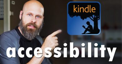 Kindle App Accessibility On The Amazon Fire Tablet - The Blind Life