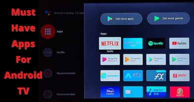 Must Have Apps For Android Smart TV / Android TV Box.